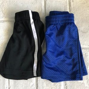 Lot of 2 Pairs of Baby Boy Athletic Shorts